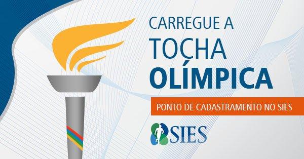 Participantes do SIES poderão carregar chama olímpica