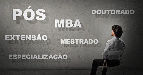 Pos, extensao, MBA, Especializacao, Mestrado e Doutorado. Voce sabe a diferenca
