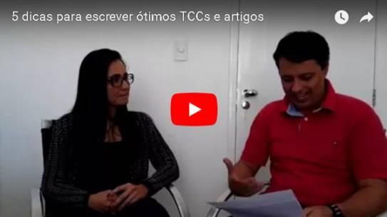 [Live] 5 dicas para escrever ótimos TCCs e artigos
