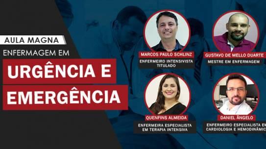 Aula Magna – Enfermagem em Urgência e Emergência