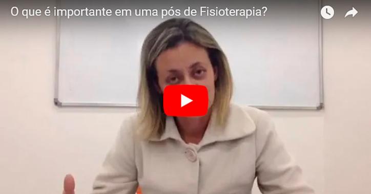 Live do IESPE - o que é importante em uma pós de Fisioterapia? - Ludmila Toni