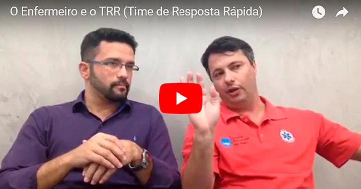 Live do IESPE - O enfermeiro e o TRR (Time de Resposta Rápida)