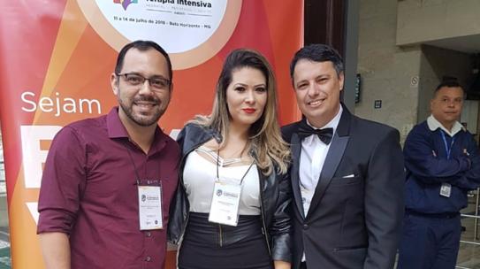 Professores do IESPE participam de Simpósio Internacional de Terapia Intensiva