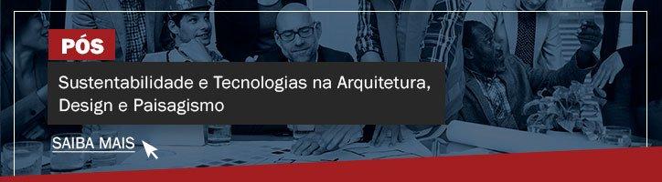 Pós-graduação em Sustentabilidade e Tecnologias na Arquitetura, Design e Paisagismo IESPE