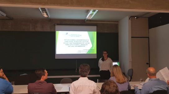 A arquiteta Aline Gouvêa, Supervisora de ensino no IESPE, defende tese de Doutorado na USP sobre tecnologia sustentável