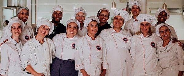 Alunos da pós-graduação Nutrição e Gastronomia do IESPE