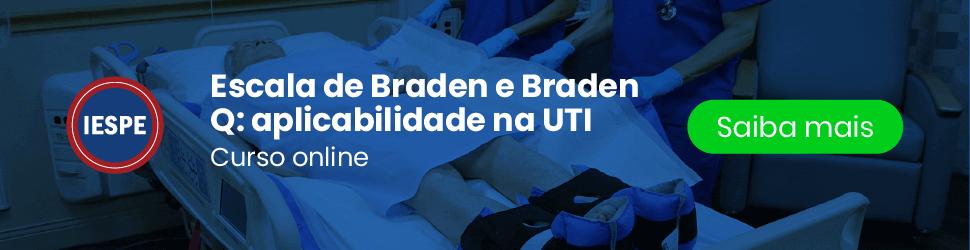 Curso online Nova Escala de Braden e Braden Q