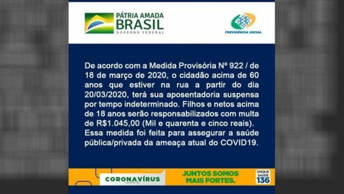 Fake News - Coronavírus