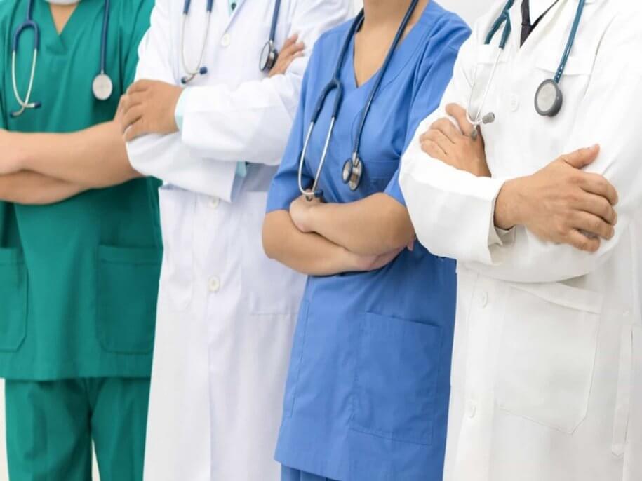 Vagas para profissionais de saúde