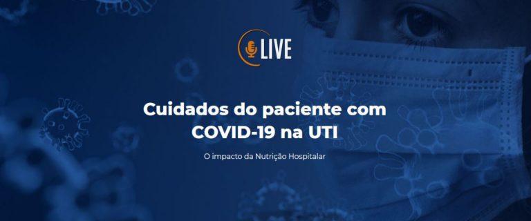 Live Cuidados do paciente com COVID-19 na UTI